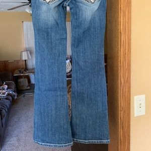 Size 10 girls Miss Me jeans.